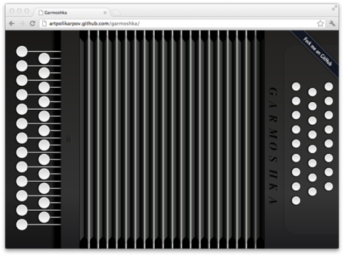 laughingsquid:  Web App Lets You Play Accordion by Resizing Your Browser Window  When coders get bored…