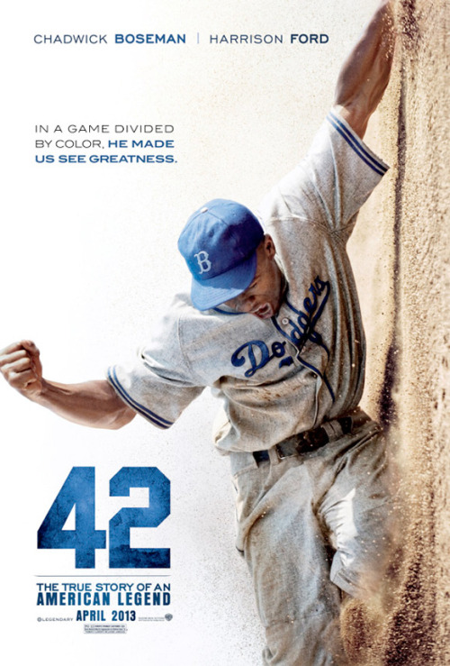 Everything about this new poster for '42' is amazing.
