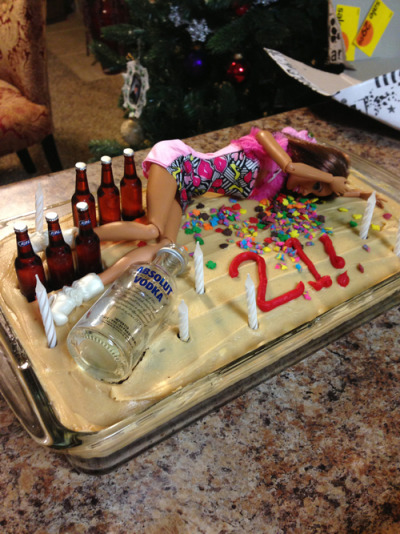 missladymillz:  lmao! i wish sum1 woulda done this cake for me wen i turned 21