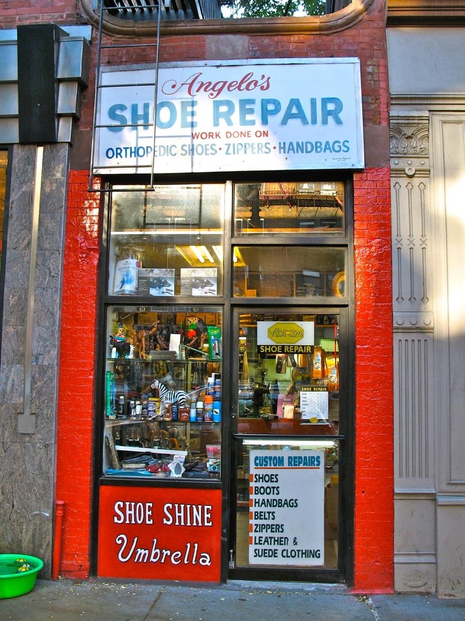 Shoe Repair Upper West Side Manhattan