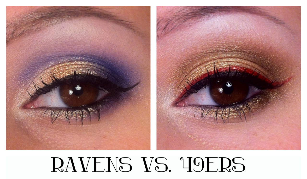 makeup-madness:  Super Bowl XLVII