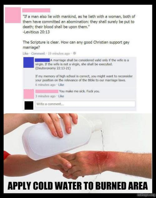 proud-atheist:  You make me sick. F@#k you.http://proud-atheist.tumblr.com