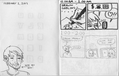 HOURLY COMICS DAY 2013 BY ME COLEMAN GILBERT WAJOWAJEOWJEFSDJL;FKJSDF