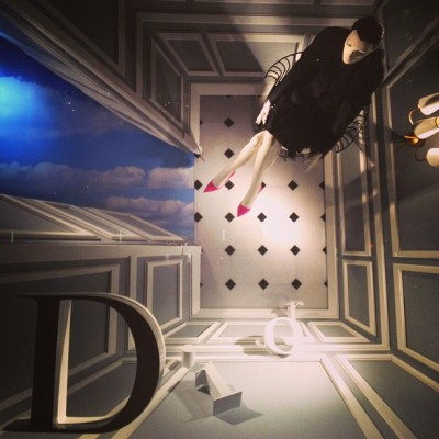 bergdorfgoodman:  Fall into @dior #bgwindows (at Bergdorf Goodman)
