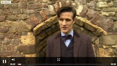 "BBC News: Matt Smith 'proud' of Doctor Who Proms  The Doctor Who Proms returns for the third time as part of the 50th anniversary celebrations and will feature special guests in two concerts. Matt Smith said: ""I love the Albert Hall. I love the Proms. I love classical music. I think it's a great thing to see all of Murray [Gold]'s really brilliant score over the years come to life"""