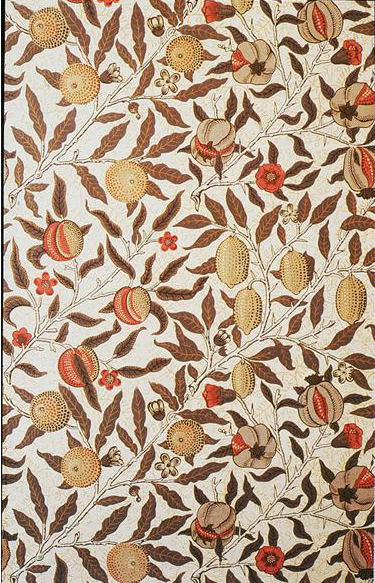 neitherlandish:  William Morris, Fruit or Pomegranate, 1864.