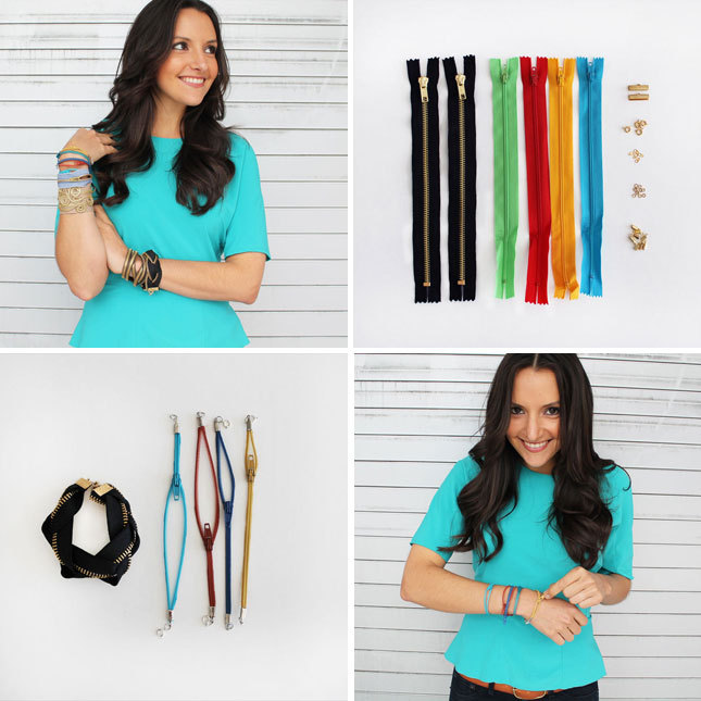 Holiday shopping alert! Zipper bracelet kits and readymade zipper bracelets are on sale in the Brit + Co. shop. Get 'em before they're gone!