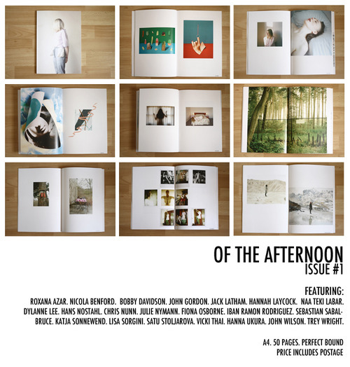 oftheafternoon:  ISSUE #1 IS NOW AVAILABLE HERE.