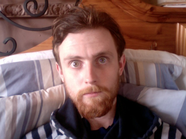 Here's a wee update on how my beard looks. Right now it's pretty much the best it's ever been. Thicker, longer and gingerer than ever. I'm happy as fuck with it. As you can see by the expression on my face.  Peace. xx
