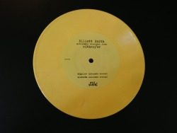 "Yellow, slightly marbled vinyl of Elliot Smith alternate versions from Either/Or, limited edition (3500) vinyl 7"" for Record Store Day 2013"