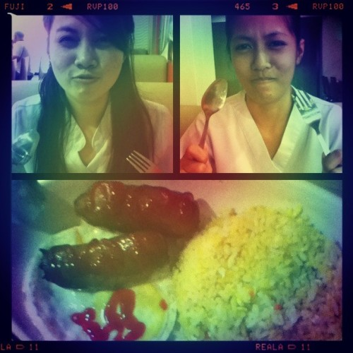 Breakfast.  (at Chowking)