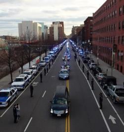 fuckyeahmassachusetts:  MIT Police Officer Sean Collier's escort home.