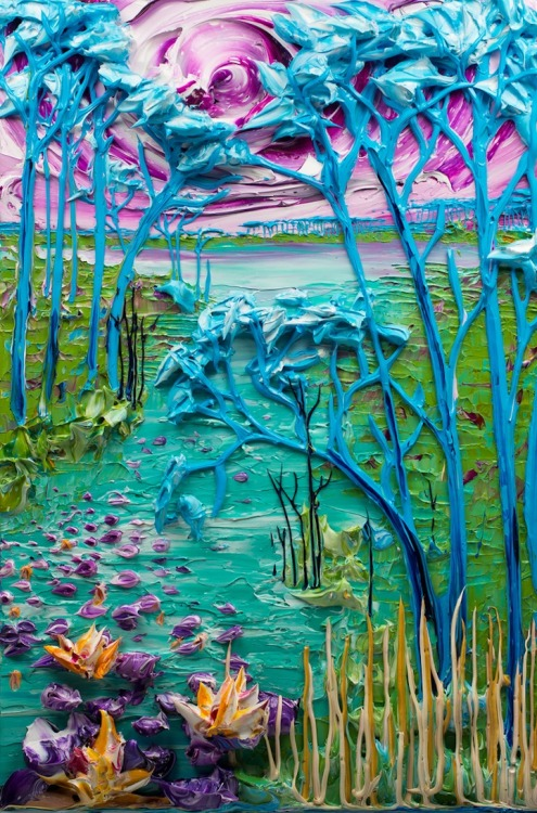 brentbs:  A painting sculpture by Justin Gaffrey