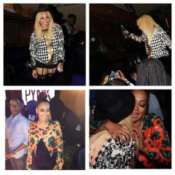#GoodTimes last night with #PynkGirls @pojohnson @lala @bleumagazine and @ciroc! #ThinkPYNK