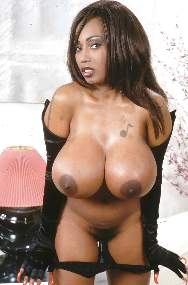 Big ebony boobs xxx porn