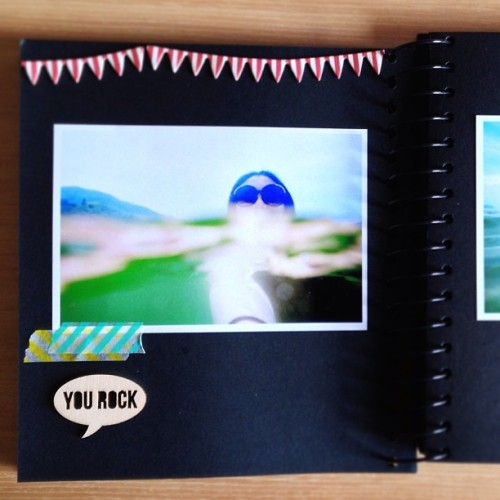 #swim #me #hkig #scrapbook #photo #paperlovers #scrapbooking  #wooden #mt #cute