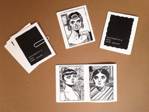 Mini portrait booklets for sale here!