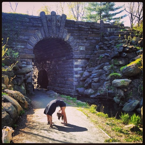 #backbends and #bridges the best way to begin a bday weekend ☺