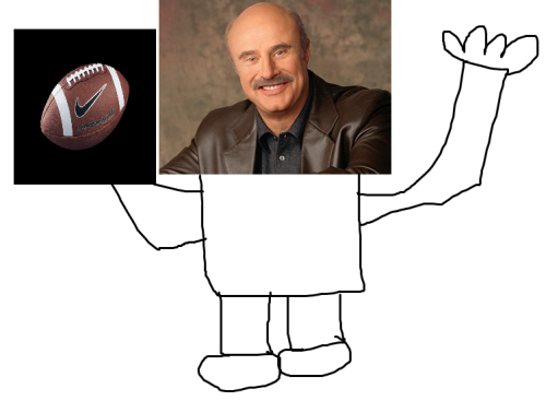 theanti90smovement:  a very rare image of Dr Phil during his football career