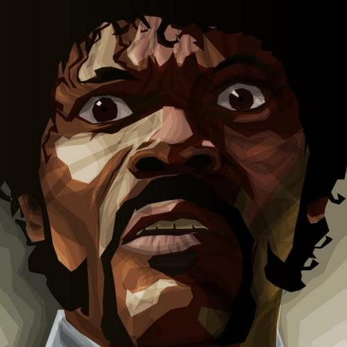 Pulp Fiction - by Diego Pardo Prints available at Society6 Does he look like a bitch?