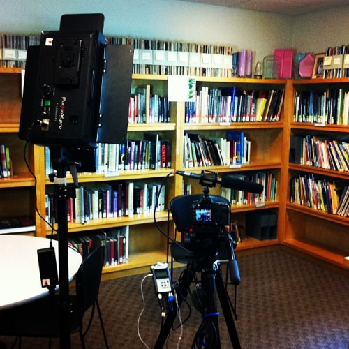 Interviews at pnb for Tim Lynch. / on Instagram http://bit.ly/15WPOOs