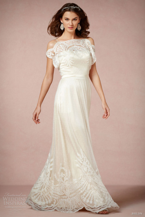 helloweddingdiary:  BHLDN Spring 2013 collection.