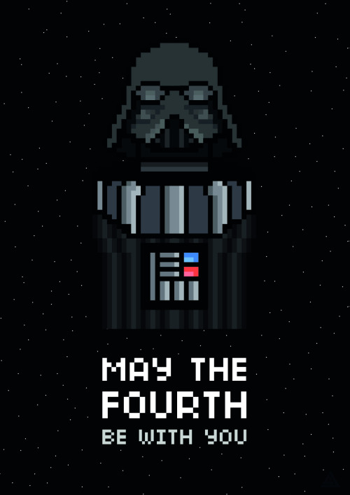 it8bit:  May The Fourth Be With You Created by James Robert Landing Website || Twitter || Tumblr