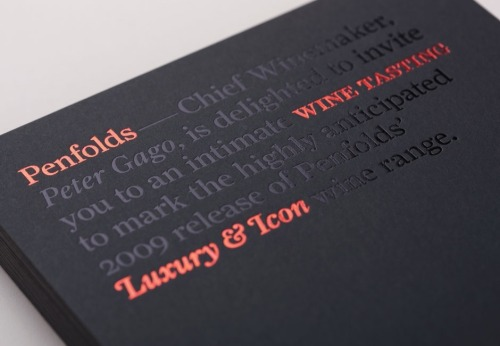 chroniquedesign:   Penfolds by Touch (http://www.thetouchagency.co.uk/work/penfolds/)