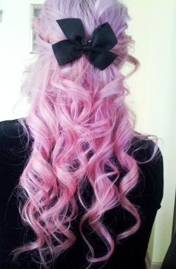Hair Popular Cute Purple Hair Cute Girl Long Hair Pastel Hair Curly Hair Colored Hair Hairstyle Dip Dye Black Hair Lilac Hair Dark Hair Ombre Hair Hair Blog Cute Hairstyle Lovescenehair