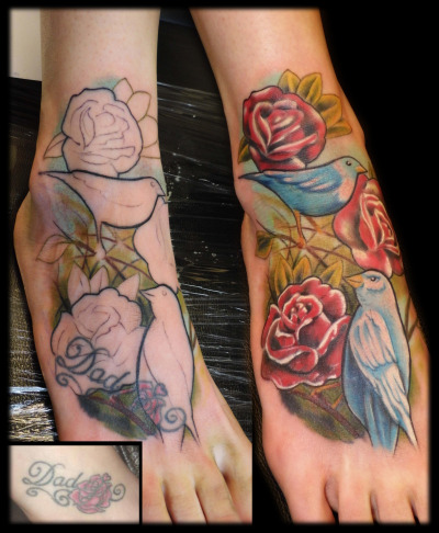 fuckyeahtattoos:  just a cover up by toroktattoo more info and pictures here: https://www.facebook.com/TOROKTATTOO?fref=ts