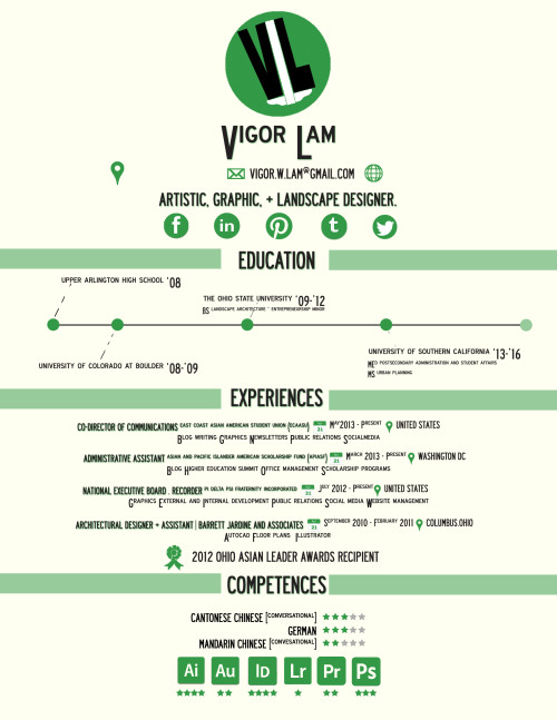 veegorous:  I made a creative resume! :D  Look at this cool thing my friend made. If anyone needs design work, I highly recommend commissioning Vigor!