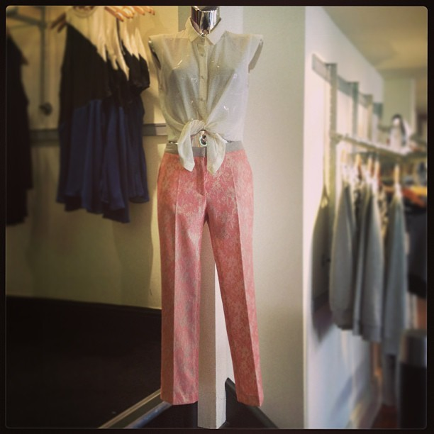 What our mannequins are wearing xx #fabric #fashion #fabricboutique #fabric_boutique #girl #girlpost #glam #outfit #mannequins #springsummer13 #blouse