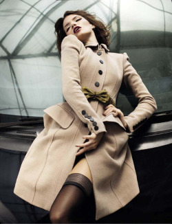 opaqueglitter:  Anna Somik for Harper's Bazaar Indonesia November 2012