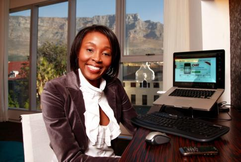 "myafricais:  INSPIRING WOMAN! Entrepreneur Rapelang Rabana hails from South Africa. At the age of 23, she started her own telecommunications company, Yeigo Communications. She has today been featured in Forbes' ""30 under 30"" list as well as Oprah's Power List."