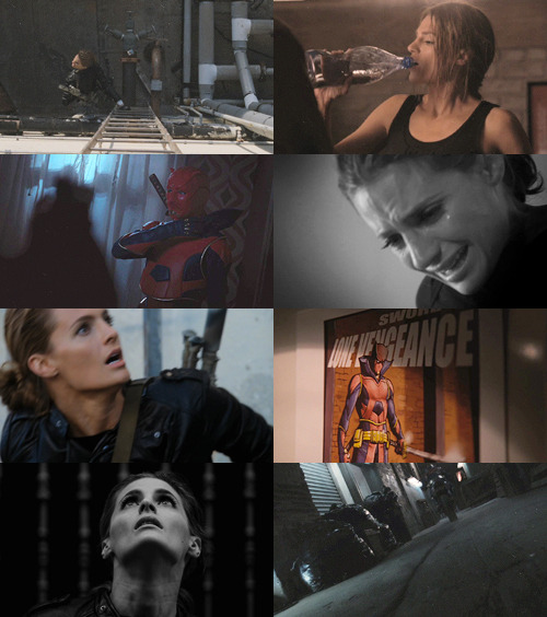 AU: Kate Beckett as Lone Vengeance