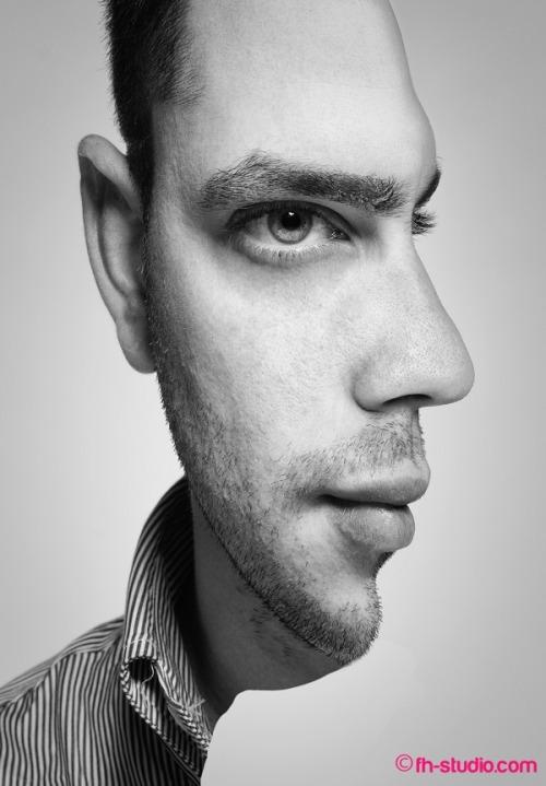 illusion surreal surreal portrait potrait