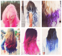 lime-up1535:  ombre hairs ∞ | via Tumblr on We Heart It - http://weheartit.com/entry/59712702/via/eria_livefreeanddream   Hearted from: http://sarrlouise.tumblr.com/post/48998135622