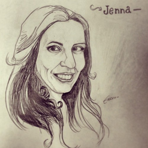 Drawing Jenna