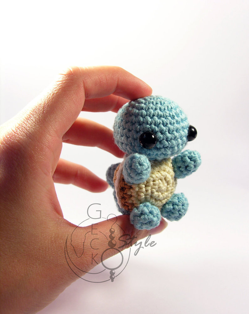 geeksngamers:  Chibi Pokemon Amigurumi - Created by LeFay00 Like on Facebook for more great projects