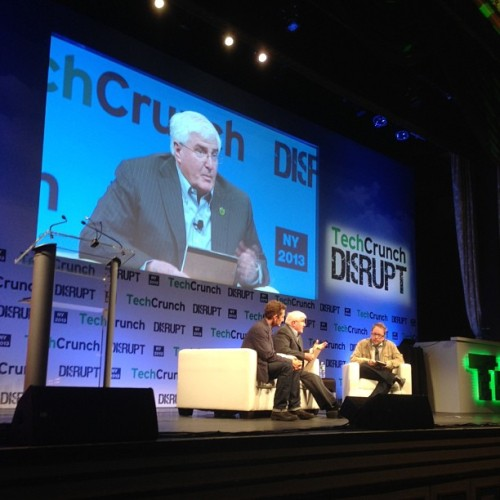 techcrunch:  Downloaded time with Alex Winters, Ron Conway and MG Siegler. (at TechCrunch Disrupt Conference #tcdisrupt)  Fun chat.