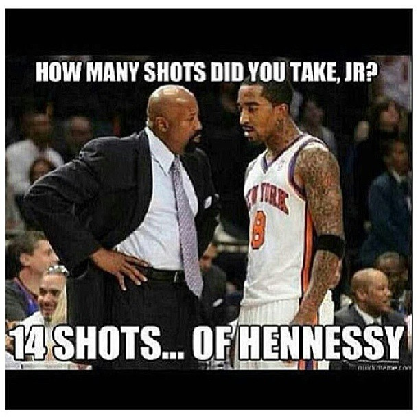 mrfirztbizzy:  - LMFAO … IT'S STILL #KNICKS #KNICKSNATION #KNICKSTAPE FOR LIFE !!! @nyknicks @carmeloanthony @teamswish