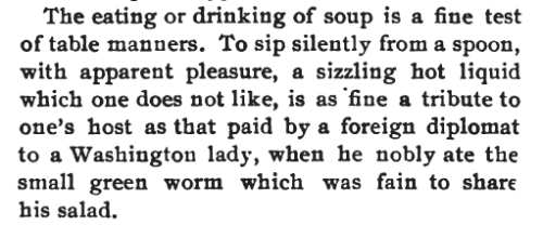 ~ One Thousand Simple Soups, by Olive Green, 1907