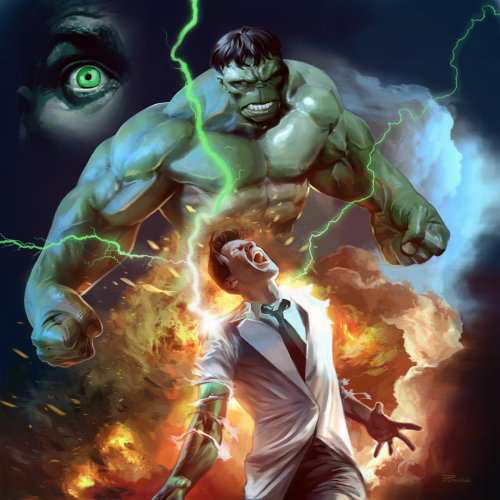 lulubonanza:  Hulk Digital Painting by ~ALAMOSCOUT6