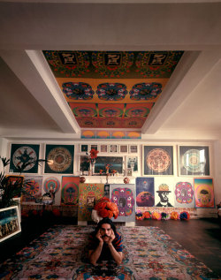 life:  Peter Max, 1967 — see more photos here.  (Yale Joel—Time & Life Pictures/Getty Images)