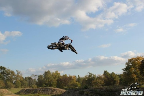 """who cares about breaking bones.this is motocross damn it, not ballet""  www.realmotocross.com"