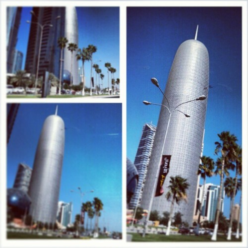 Doha Tower , designed by Jean Nouvel