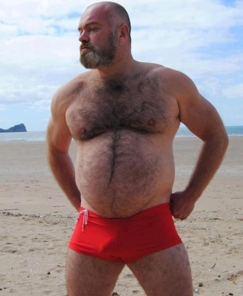 bearlysane:  red trunks