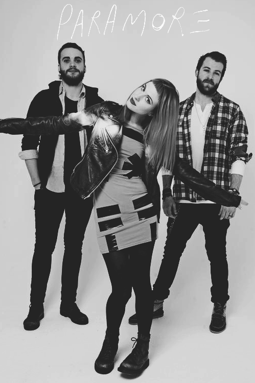 i-live-rock-n-roll:  Paramore is a BAND!
