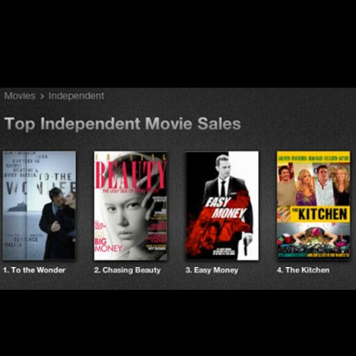 #thekitchenfilm is the #4 Top Independent Movie Sales on #itunes! #congrats #thekitchen #indiefilm #independentfilm #film #movies #topten #mmi #montereymedia