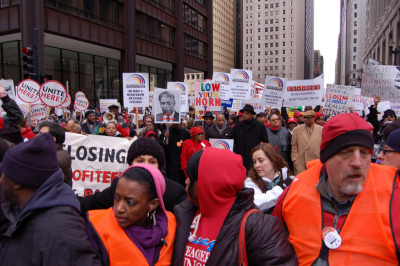 Chicago School Closings rally